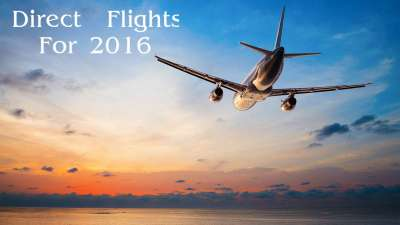 Direct Flights for 2016